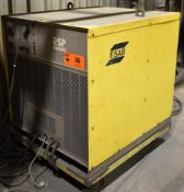 ESAB ESP600C PLASMA CUTTING POWER SOURCE, S/N: PD-I651077 (CI) [RIGGING FEE FOR LOT #36 - $150 CAD