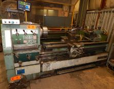 "CHIEN YEH CY-680X2000 GAP BED ENGINE LATHE WITH 12"" 3-JAW CHUCK, 30"" SWING OVER BED, 76"" DISTANCE"
