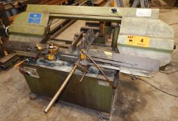 DARBERT HORIZONTAL BANDSAW, S/N: 0260 (CI) [RIGGING FEE FOR LOT #4 - $150 CAD PLUS APPLICABLE