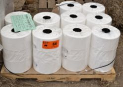 LOT/ ROLLS OF POLY BAGS