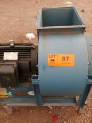 HERING AG (2010) MVLC 450 BLOWER WITH 15 HP MOTOR, S/N: 30/7003313 (CI)