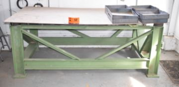 HEAVY DUTY STEEL TABLE FRAME (CI)