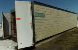 DE-CLORET GAS FIRED TOBACCO/PLANT DRYER WITH 240V BLOWER MOTOR, S/N N/A (LANORAIE, QC)