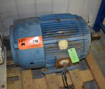 MAC 75 HP ELECTRIC MOTOR WITH 1775 RPM, 460V, 3 PHASE, 60 HZ (CI) [RIGGING FEE FOR LOT #19 - $25 CAD