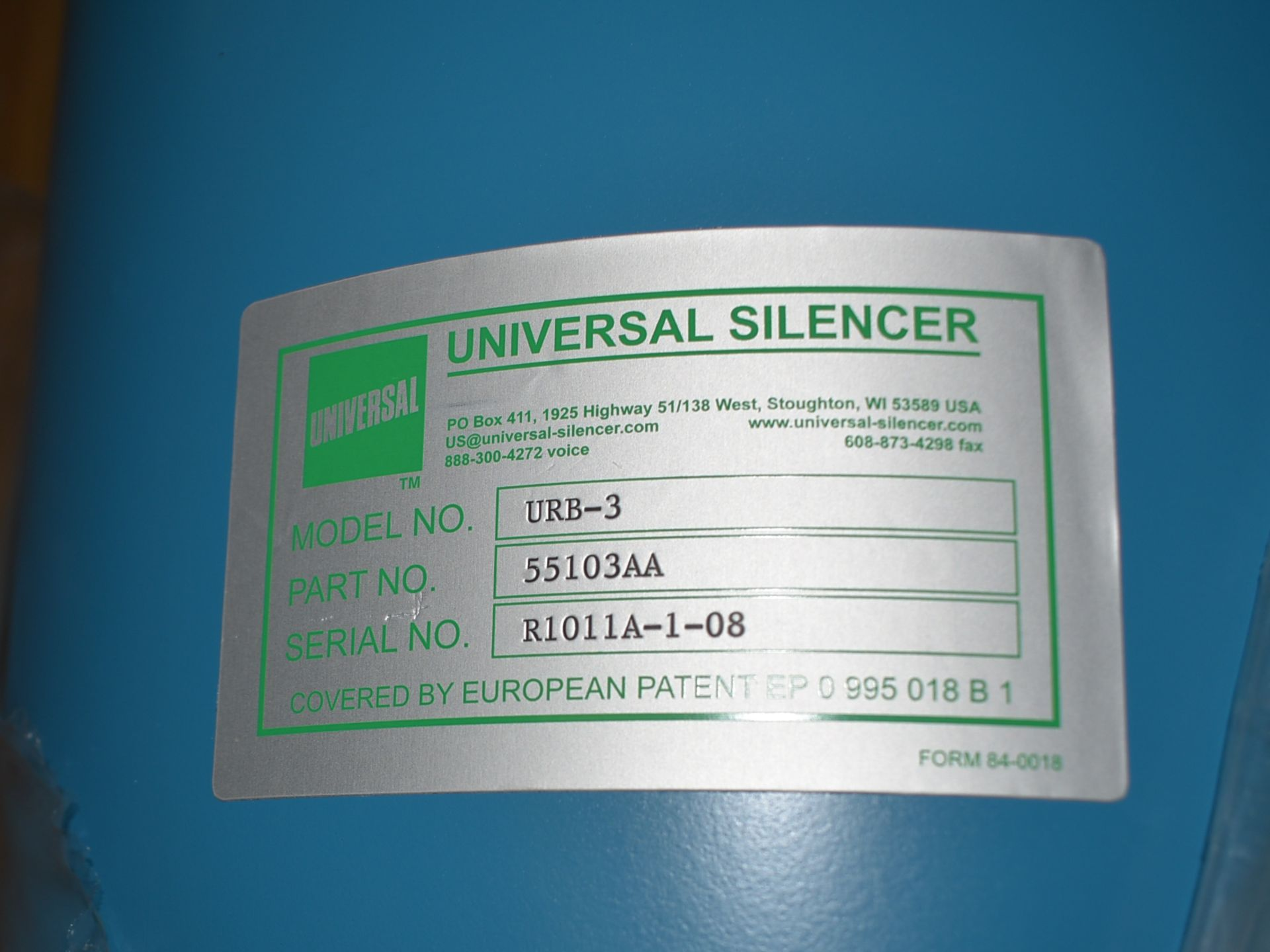 LOT/ SKID OF UNIVERSAL SILENCERS (APPROX. 12) (CI) [RIGGING FEE FOR LOT #85 - $25 CAD PLUS - Image 4 of 4