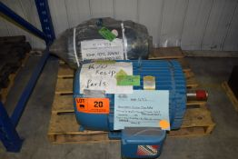 LOT/ 40 HP ELECTRIC MOTOR & 30 HP ELECTRIC MOTOR (CI) [RIGGING FEE FOR LOT #20 - $25 CAD PLUS