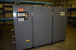 ATLAS COPCO GA160 ROTARY SCREW AIR COMPRESSOR WITH 200 HP, 157 PSIG, S/N: AIF.040642 (CI) [SKU 1274]