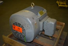 CROWN TRITON 60 HP ELECTRIC MOTOR WITH 230/460V, 4 PHASE, 60 HZ (CI) [SKU 1232] [RIGGING FEE FOR LOT
