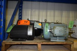 LOT/ SPARE ELECTRIC MOTORS (CI) [SKU 1179, 1180, 1181, 1182, 1184] [RIGGING FEE FOR LOT #17 - $25