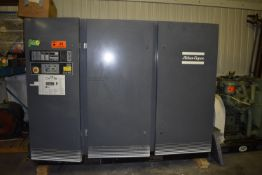 ATLAS COPCO GA110 ROTARY SCREW AIR COMPRESSOR WITH 150 HP, 1790 RPM, S/N: AIF.022028 (CI) [SKU 1277]
