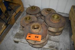 LOT/ (7) BRASS IMPELLERS (CI) [RIGGING FEE FOR LOT #44 - $25 CAD PLUS APPLICABLE TAXES]