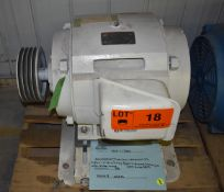 TOSHIBA 40 HP ELECTRIC MOTOR WITH 1170 RPM, 575V, 3 PHASE, 60 HZ (CI) [SKU 1130] [RIGGING FEE FOR