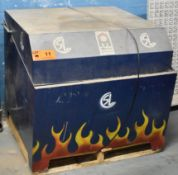 METALAS SENIOR 125T PARTS WASHER WITH ROTARY TABLE, S/N: C1044 (CI) [RIGGING FEES FOR LOT #11 - $100