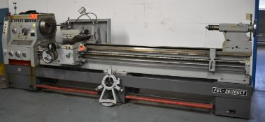 "CY MAGNUM-CUT FEL-26120GCY GAP BED ENGINE LATHE WITH 26"" SWING OVER BED, 120"" BETWEEN CENTERS, 4.25"""