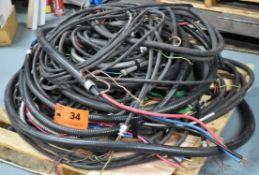 LOT/ SKID OF ELECTRICAL CABLE & WIRE