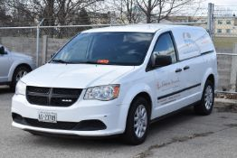 DODGE (2014) RAM SERVICE VAN WITH 3.6L V6 GAS ENGINE, AUTOMATIC TRANSMISSION, POWER STEERING,