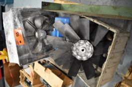 LOT/ SKID WITH FANS & ELECTRIC DRIVE MOTOR