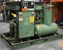 SULLAIR 20-150H-ACAC ROTARY SCREW AIR COMPRESSOR WITH 150 HP, S/N: 003-78677 (NOT IN SERVICE) (