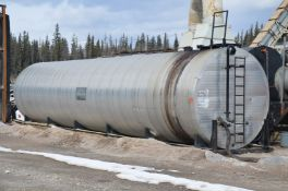 HIGHLAND (2016) APPROX. 120,000L SKID MOUNTED STORAGE TANK WITH K.G. WARDSTROM COMBUSTION SYSTEM,