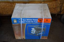 """POWERFIST (2019) PAWP-2070S 2"""" GAS POWERED WATER PUMP WITH 225CC ENGINE, 2"""" NPT INLET/OUTLET"""