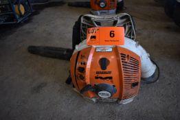 STIHL BR600 BACKPACK GAS POWERED BLOWER, S/N: N/A