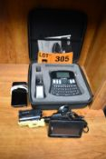 LOT/ LABEL PRINTER, IPHONE, PORTABLE VIDEO CAMERA AND GPS UNIT