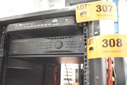 TYCO VIDEO RECEIVER WITH (8) CAMERAS, S/N: N/A