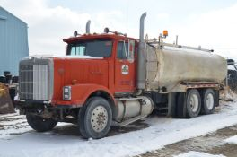 INTERNATIONAL TRANSTAR WATER TRUCK WITH BOMEGA (1995) TANK, VIN: N/A (NOT IN SERVICE)