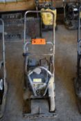 """ATLAS COPCO (2015) LF75 GAS POWERED FORWARD PLATE COMPACTOR WITH 20""""X22"""" PLATE, HONDA 160CC GAS"""