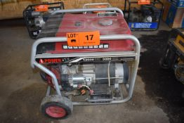 IPOWER SUA12000E 12,000W GAS POWERED GENERATOR WITH 120-240V/1PH/60HZ, S/N: N/A
