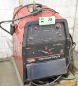 LINCOLN ELECTRIC PRECISION TIG 275 DIGITAL TIG WELDER WITH CABLES AND GUN, S/N: N/A
