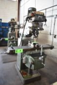 """LILIAN VERTICAL TURRET MILLING MACHINE WITH 50""""X10"""" TABLE, SPEEDS TO 4200 RPM, HEIDENHAIN 2 AXIS"""
