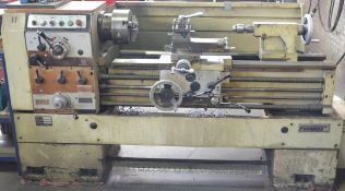 """FORWARD IF-1640 GAP BED ENGINE LATHE WITH 16"""" SWING OVER BED, 40"""" BETWEEN CENTERS, SPEEDS TO 1800"""