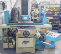 """PERFECT PFG-2550AH HYDRAULIC SURFACE GRINDER WITH 19.5""""X10"""" MAGNETIC CHUCK, 8"""" GRINDING WHEEL,"""