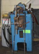 TAYLOR WINFIELD 25/50 KVA ROCKER ARM TYPE SPOT WELDER WITH MEDAR DIGITAL CONTROL, S/N: 50987