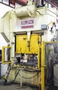 """BLOW PRESS SC2-150-60-36 150 TON CAPACITY MECHANICAL SINGLE CRANK STRAIGHT SIDE PRESS WITH 6"""""""