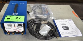 STUDPRO-2500 PORTABLE STUD WELDER WITH CABLES AND GUN, S/N: 2500-2067 (NEW IN BOX)
