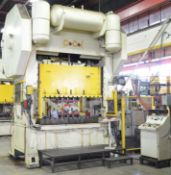 """CCI S2-200-48X84 200-TON CAPACITY MECHANICAL DOUBLE CRANK STRAIGHT SIDE PRESS WITH 10"""" STROKE, 23"""""""