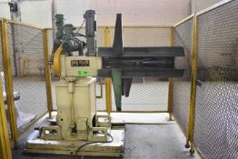MECON 60DBLDCH36 6,000 LB. CAPACITY MOTORIZED UNCOILER, S/N: 6D013 (CI) [RIGGING FEES FOR LOT #