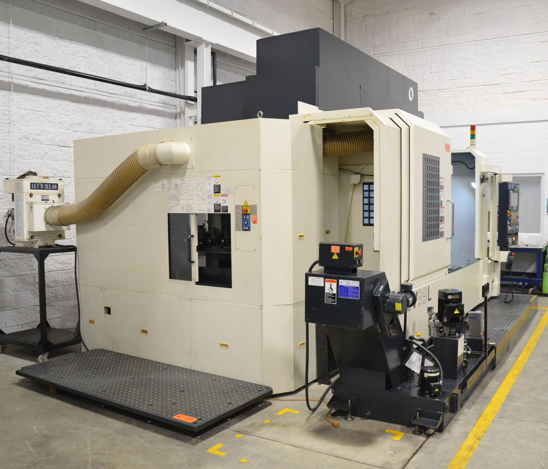 MAKINO (2008) V99L(#50) CNC VERTICAL MACHINING CENTER WITH MAKINO PROFESSIONAL 5 CNC CONTROL, 39. - Image 8 of 12
