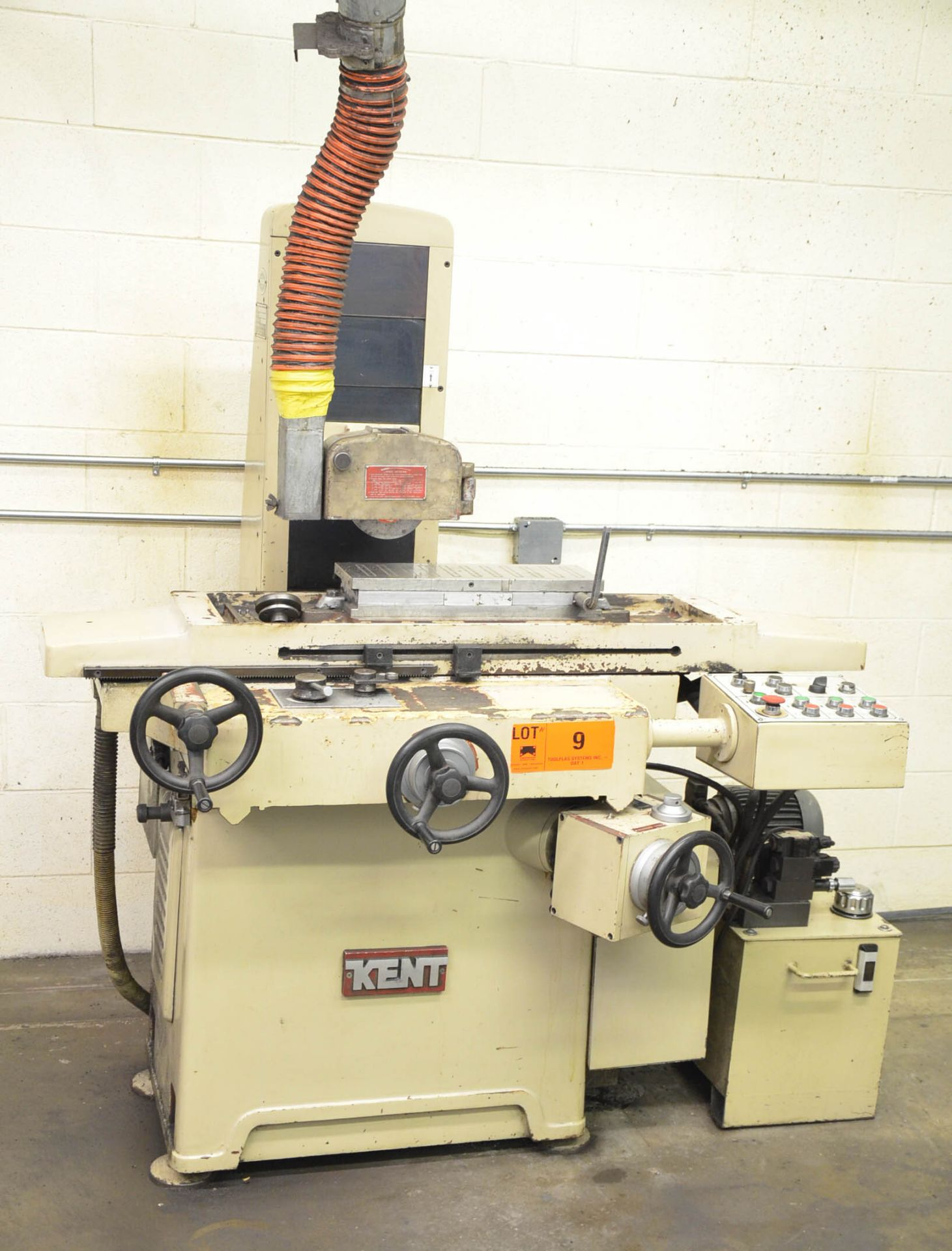 """KENT CGS-818AHD HYDRAULIC SURFACE GRINDER WITH 6""""X18"""" MAGNETIC CHUCK, 8"""" WHEEL, INCREMENTAL DOWN- - Image 2 of 5"""