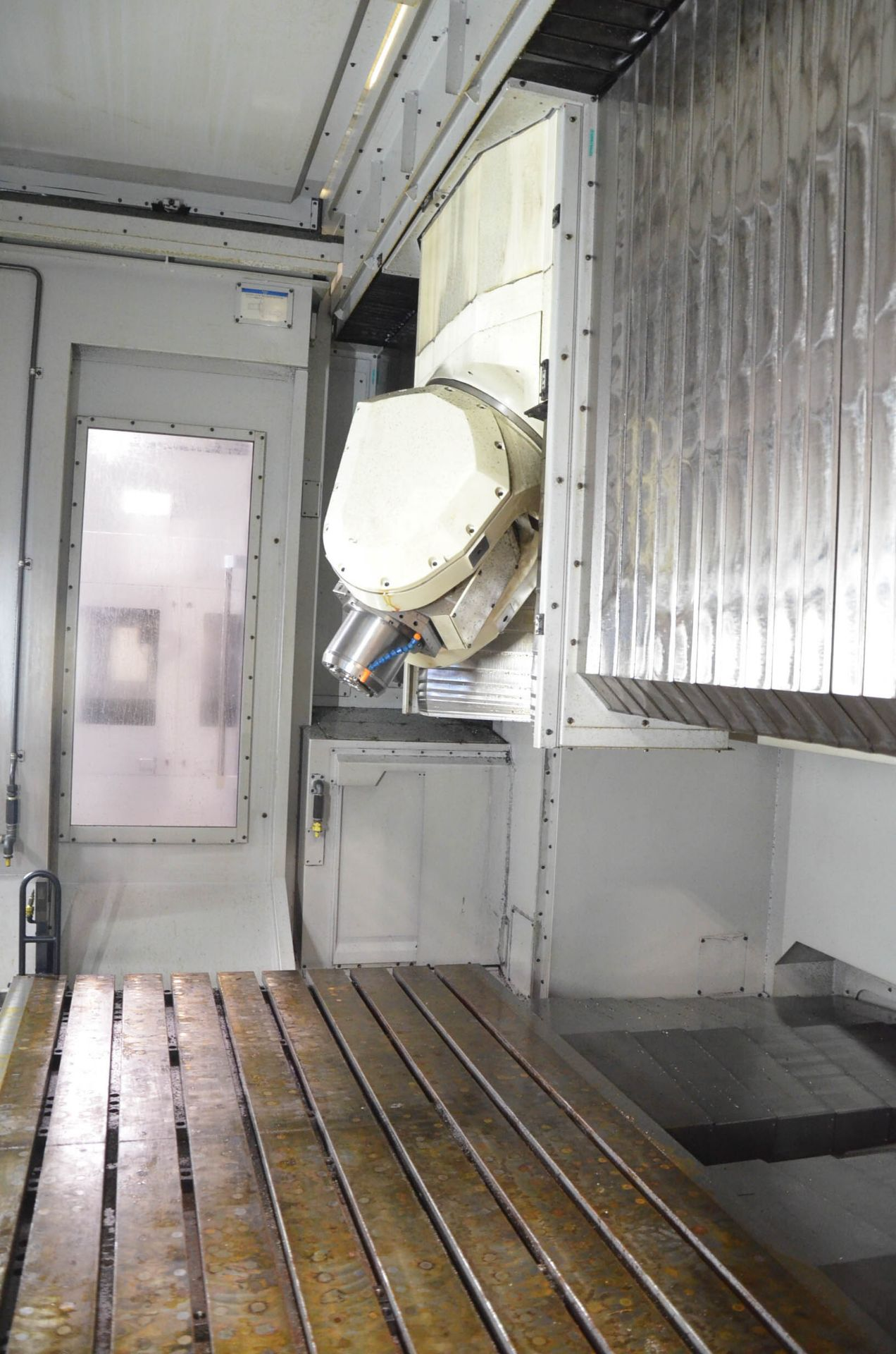"MAKINO (NOV 2018) V90S 5-AXIS CNC MACHINING CENTER WITH MAKINO PROFESSIONAL 6 CNC CONTROL, 78.74"" - Image 11 of 15"