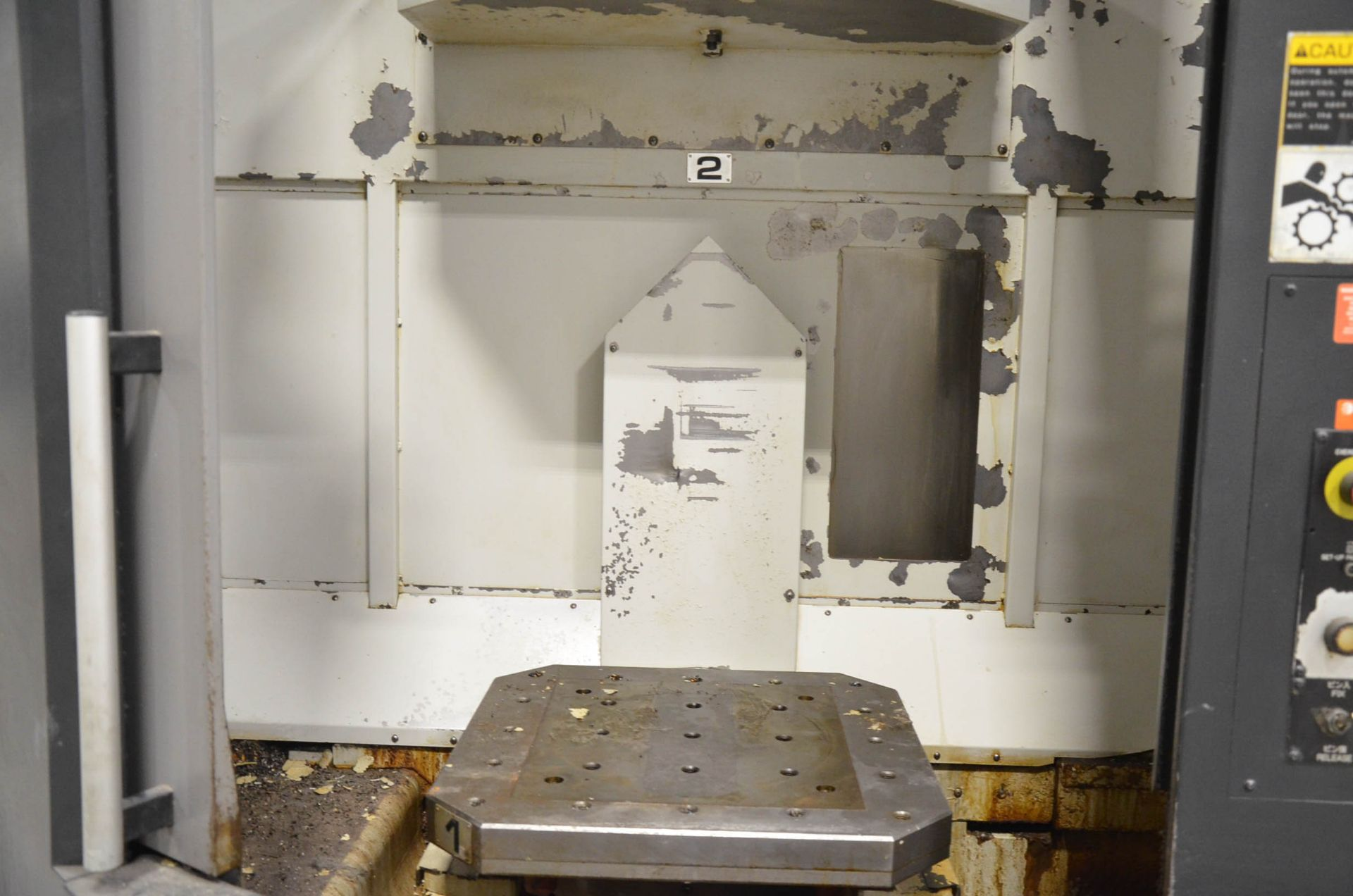 OKK (2006) HP500S TWIN-PALLET CNC HORIZONTAL MACHINING CENTER WITH FANUC 180I S-MB CNC CONTROL, 19. - Image 2 of 5
