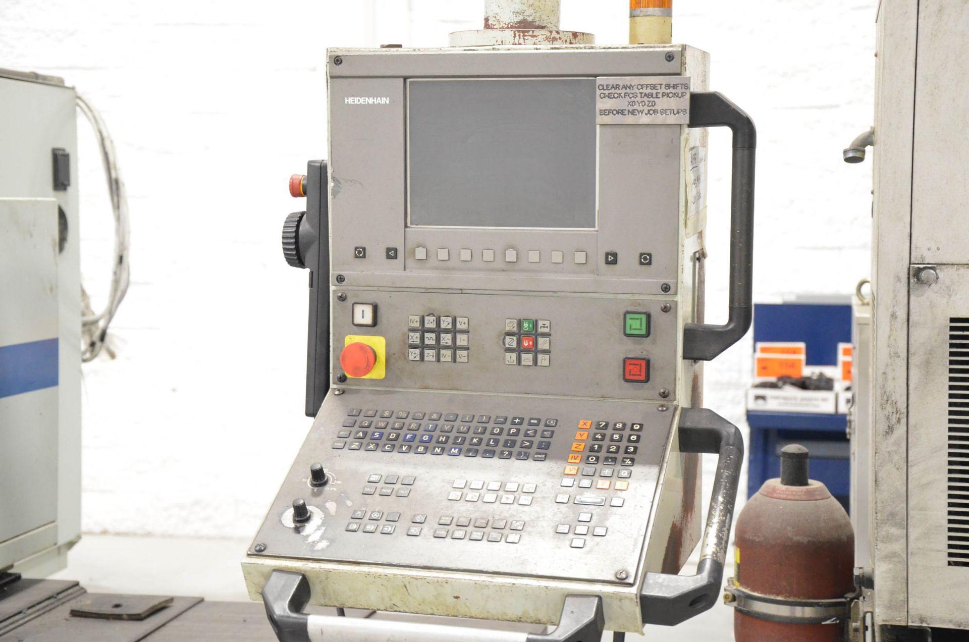 "PHOENIX KAFO (2001) VMC-21100 CNC VERTICAL MACHINING CENTER WITH HEIDENHAIN CNC CONTROL, 39""X94"" - Image 3 of 7"