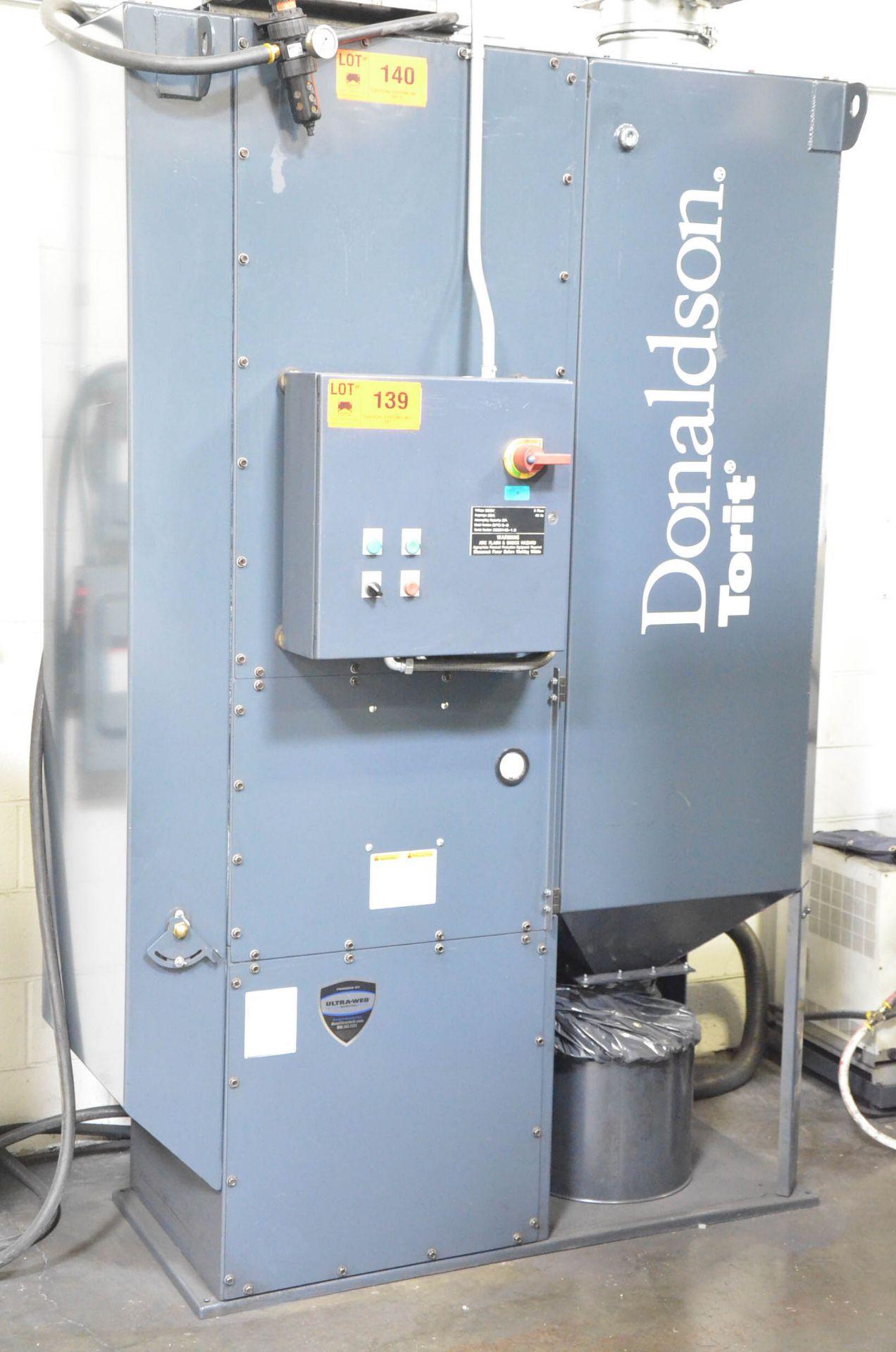 DONALDSON TORIT DFO3-3 CARTRIDGE-TYPE DUST COLLECTOR, 208V/3PH/60HZ, S/N 3825145-1.3 (CI) [RIGGING