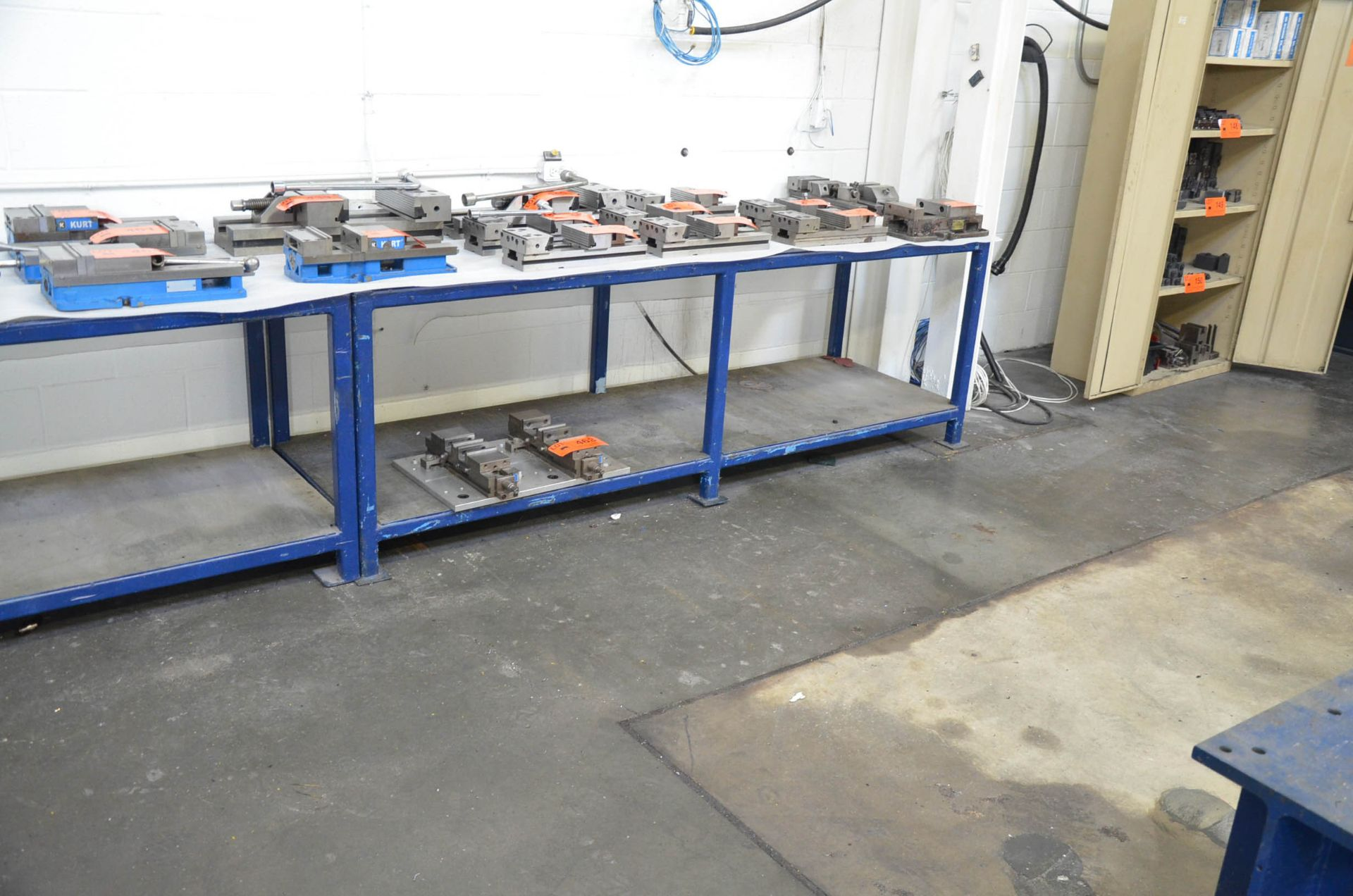 LOT/ (2) STEEL WORKBENCHES - Image 2 of 2