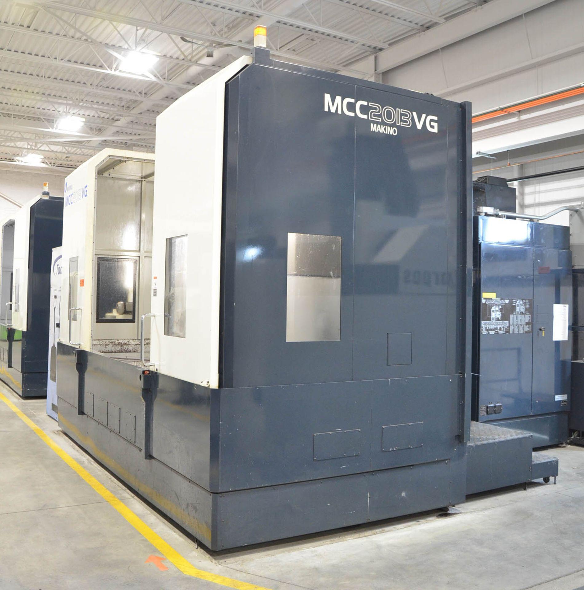 "MAKINO (2013) MCC2013 VG 6-AXIS CNC MACHINING CENTER WITH MAKINO PROFESSIONAL 5 CNC CONTROL, 59"" X - Image 3 of 11"
