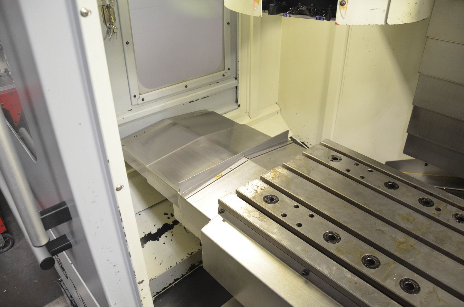 SWI (2012) TRAK LPM 4-AXIS READY CNC VERTICAL MACHINING CENTER WITH PROTO TRAK PMX CNC CONTROL, 19. - Image 9 of 10