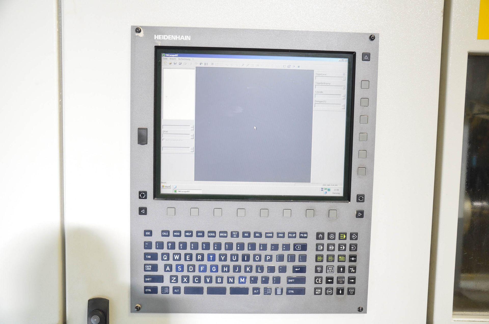 "GROB (2012) G350 5-AXIS CNC MACHINING CENTER WITH HEIDENHAIN ITNC 530 CNC CONTROL, 22.25"" DIAMETER - Image 11 of 12"