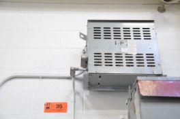 JVC 30KVA/600-220V/3PH/60HZ TRANSFORMER (CI) [RIGGING FEES FOR LOT #35 - $50 USD PLUS APPLICABLE